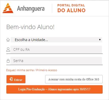 Como Acessar o Portal Digital Anhanguera