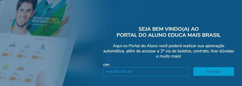 Como Acessar o Portal do Aluno Educa Mais Brasil 2021