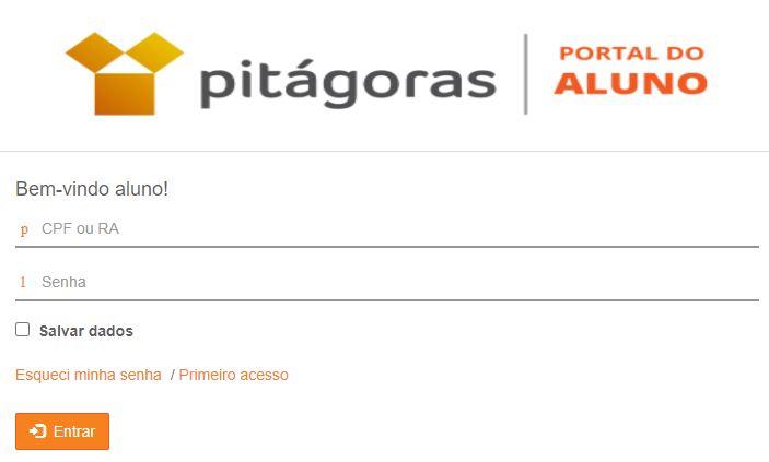 Como Acessar o portal do aluno Pitágoras