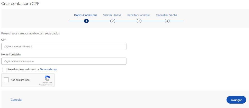 Como se Inscrever na Página do Participante