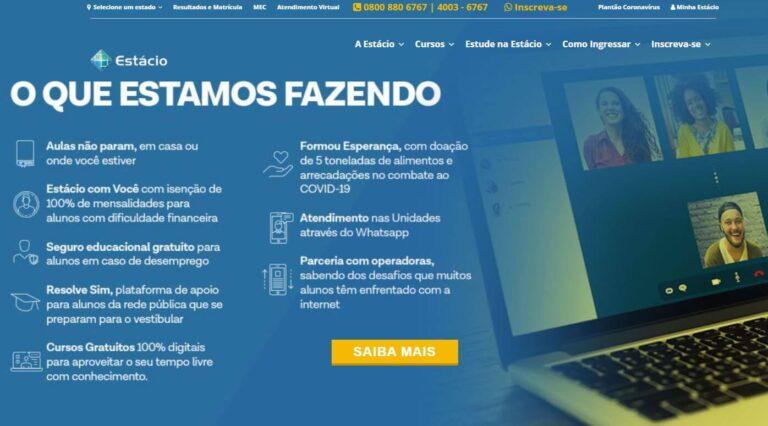 Portal do Aluno Estácio 2022