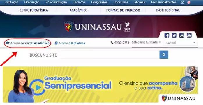 Portal do Aluno Uninassau 2022