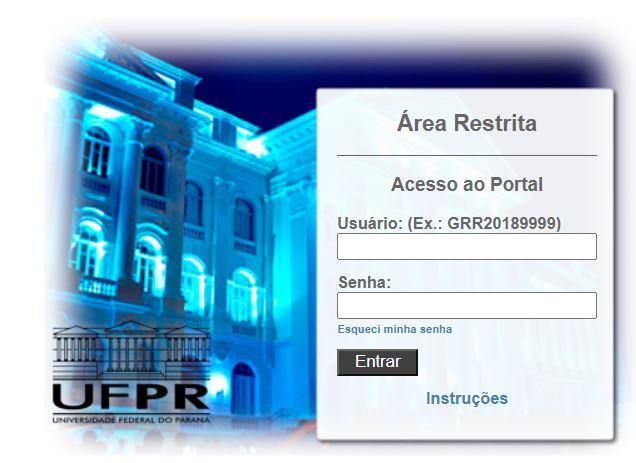 Como Acessar o Portal do Aluno UFPR 2021