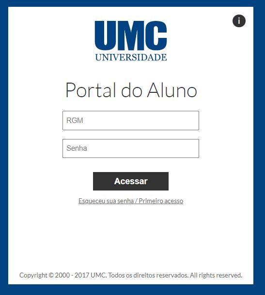 Como Acessar o Portal do Aluno UMC 2021