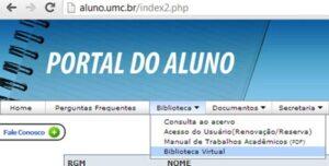 Portal do Aluno UMC 2021